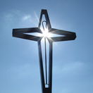 Sculpture of a cross